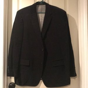 NWOT Boss black blazer with grey